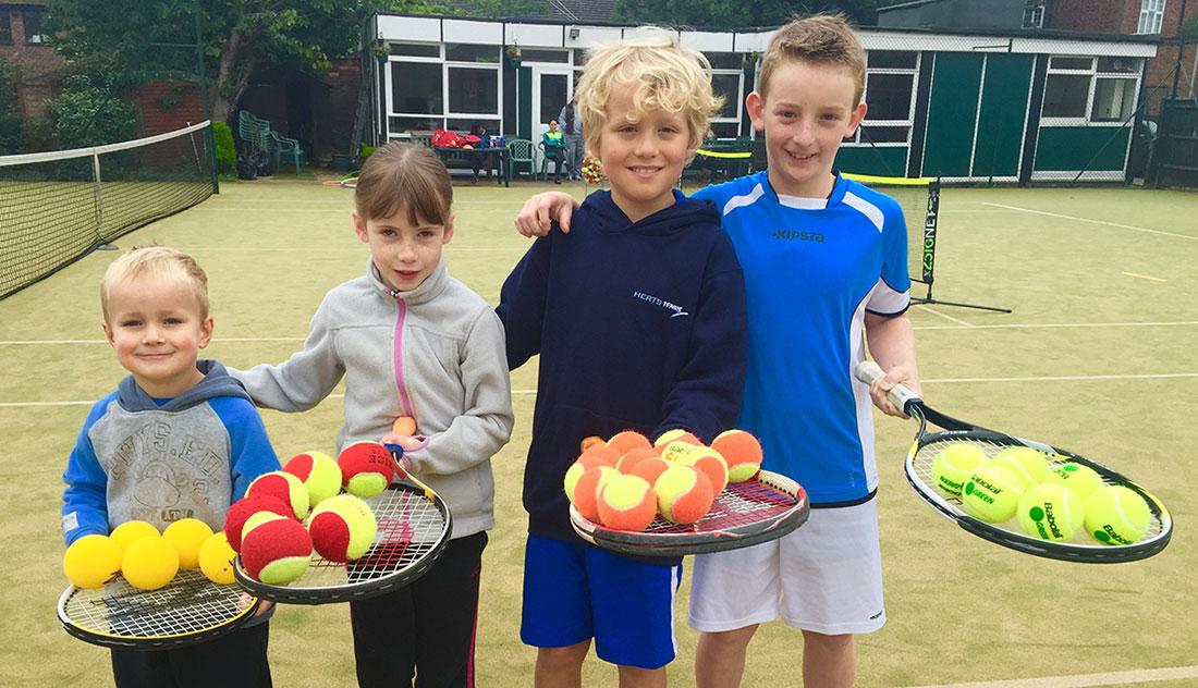 A Racquet Sizing Chart For Children